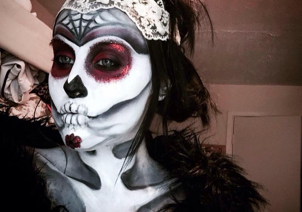 Halloween Sugar Skull Tutorial