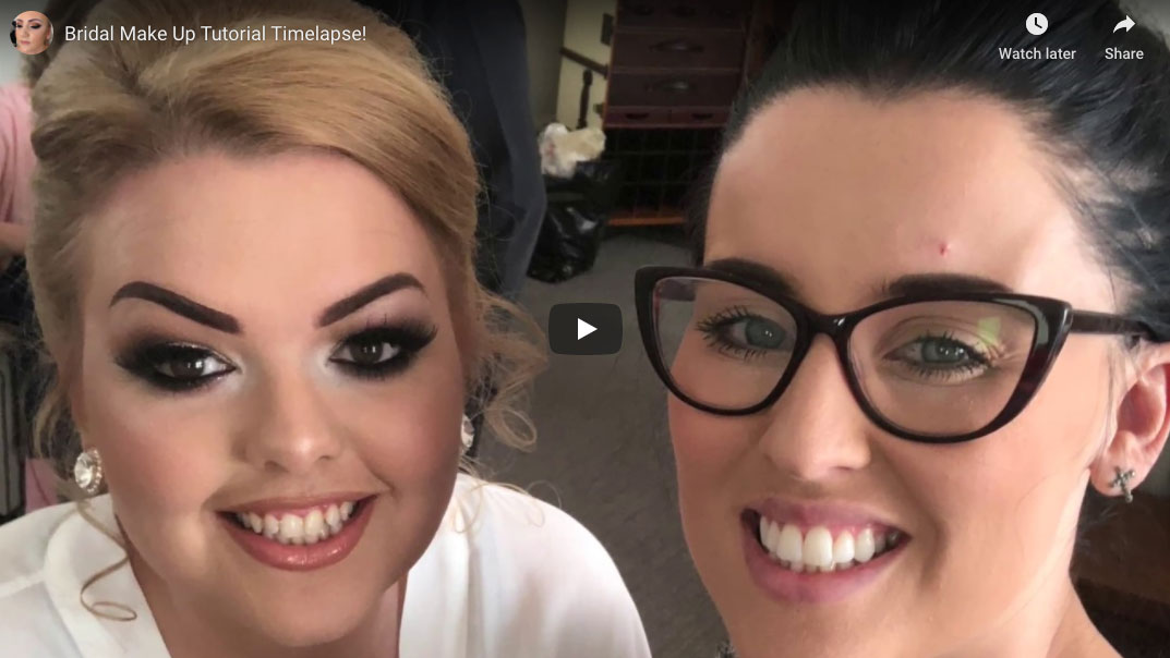 Youtube! – Wedding make up time-lapse